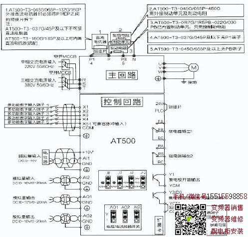 AT500变频器